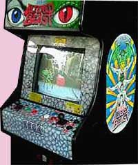 Altered Beast Arcade Game Cabinet