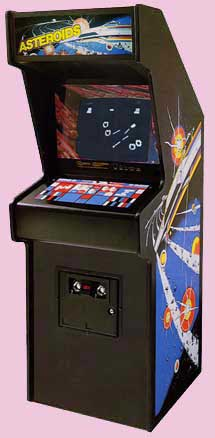 Asteroids 70's Arcade Game Cabinet