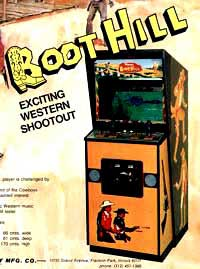 Boot Hill 70's Arcade Game Cabinet