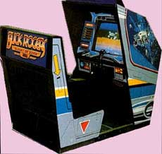 Buck Rogers Arcade Game Cabinet