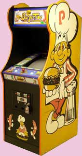 Burger Time Arcade Game Cabinet