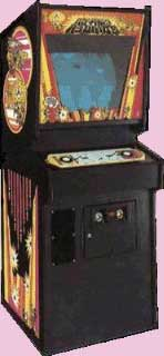 Canyon Bomber 70's Arcade Game Cabinet