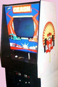 Crash Arcade Game Cabinet