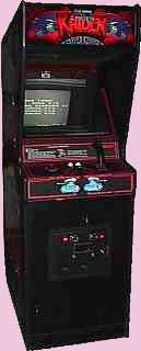 Crater Raider Arcade Game Cabinet