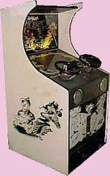Death Race 70's Arcade Game Cabinet