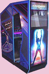 Discs of Tron Arcade Game Cabinet