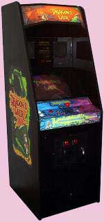 Dragon's Lair Arcade Game Cabinet