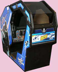 Empire Strikes Back Arcade Game Cabinet