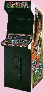 Gravitar Game Cabinet