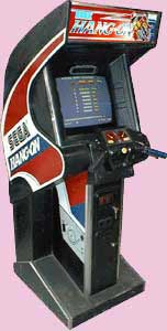 Hang On Arcade Game Cabinet