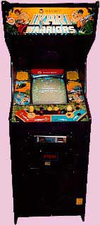 Ikari Warriors Arcade Game Cabinet