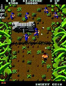 Ikari Warriors Arcade Game