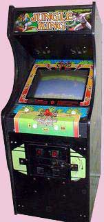 Jungle King Arcade Game Cabinet