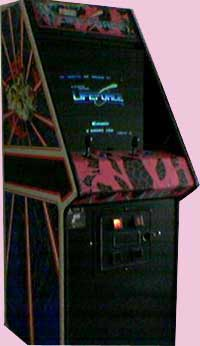 Life Force Arcade Game Cabinet