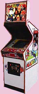 Mappy Arcade Game Cabinet