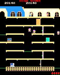 Mappy Arcade Game