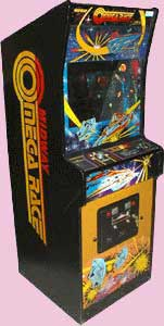 Omega Race Arcade Game Cabinet