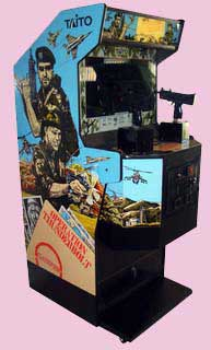 Operation Thunderbolt Game Cabinet
