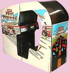 Pole Position Game Cabinet