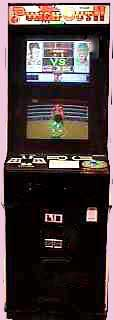 Punch Out Game Cabinet
