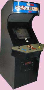 The Real Ghostbusters Game Cabinet