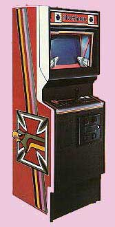 Red Baron Arcade Game Cabinet