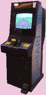Road Blasters Arcade Game Cabinet