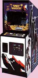 Space Invaders Arcade Game Cabinet