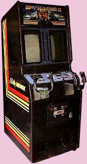 Spy Hunter 2 Arcade Game Cabinet