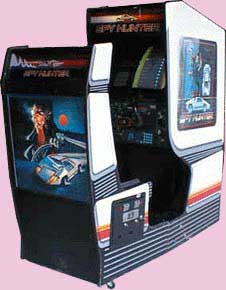 Spy Hunter Arcade Game Cabinet