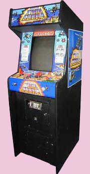 Twin Cobra Arcade Game Cabinet