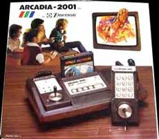 Arcadia 2001 Starpath Game Console