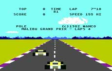 Atari 5200 Pole Position Game