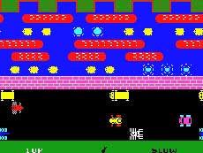 Colecovision Frogger Game