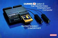 Fairchild Channel F Game Console