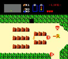 NES Legen of Zelda Game