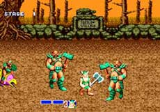 Sega Genesis Golden Axe Game