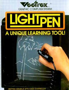 Vectrex Game Console Light Pen