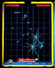 Vectrex Mine Storm Game
