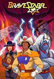 Bravestarr Cartoon 80's TV