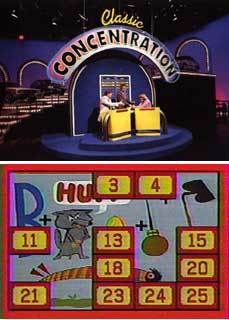 Classic Concentration Game Show
