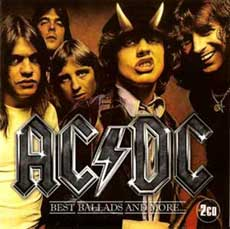 ACDC Hair Metal Band