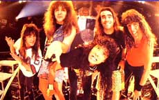 Anthrax Hair Metal Band