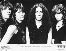 Anvil Hair Metal Band