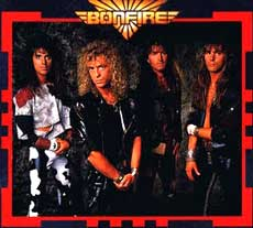Bonfire Hair Metal Band
