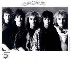 Bronz Hair Metal Band