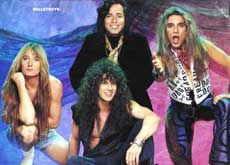 Bullet Boys Hair Metal Band