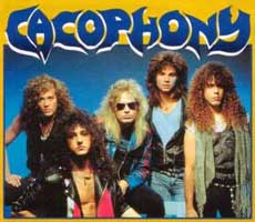 Cacophony Hair Metal Band