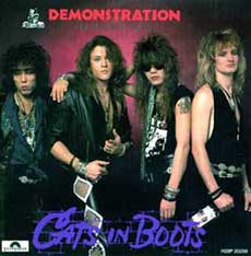 Cats in Boots Hair Metal Band