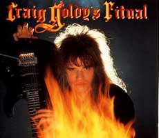 Craig Goldy Hair Metal Band